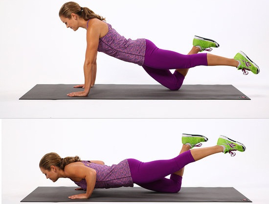 push-ups-on-your-knees