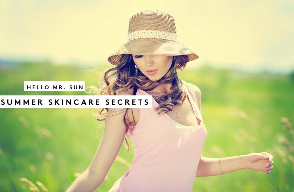 skincare tips for summer