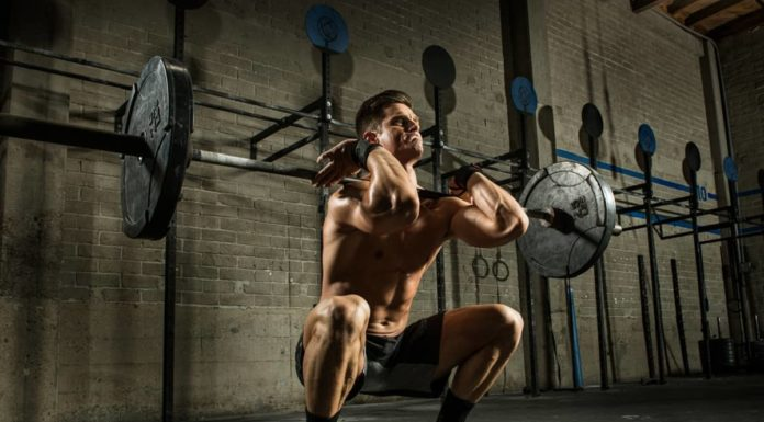 barbell-front-squat