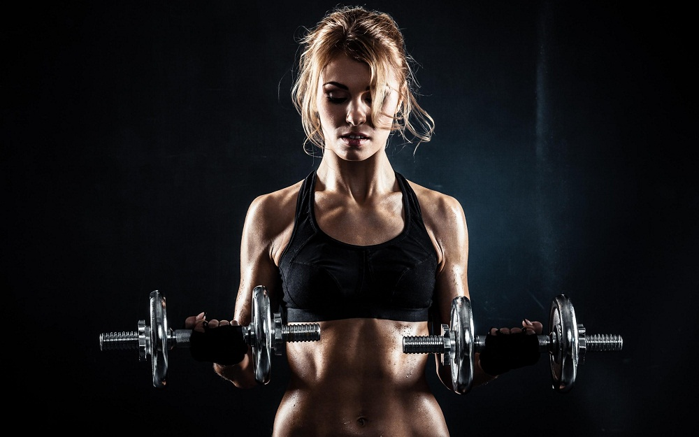 fitness girl workout