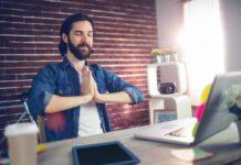 how to burn calories at your desk job