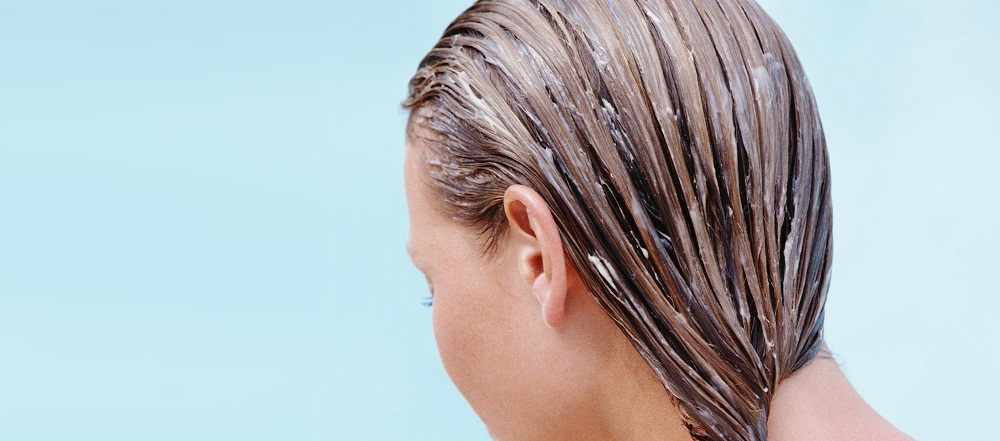 Use the Hair Conditioner on the Tips of the Hair to stop split ends