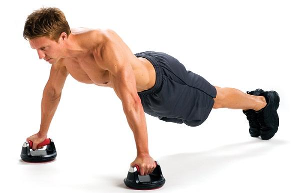 Wide push-ups