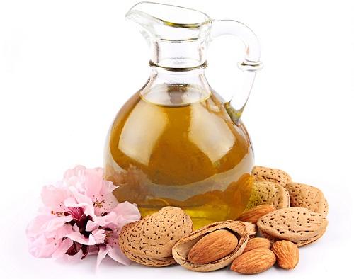 almond oil for dark neck