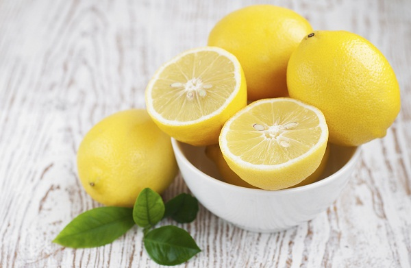 lemon juice for dark neck