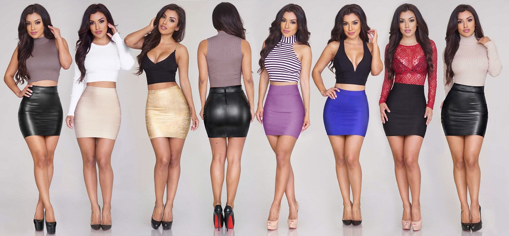 Leather Skirts for women