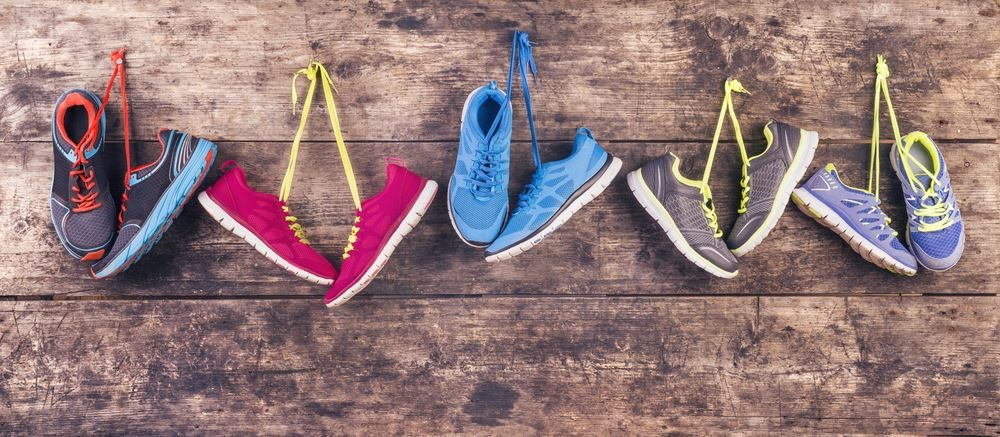 Choose the right kind of running shoes