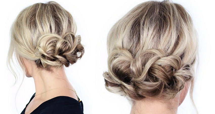Easy Classy Updo Hairstyle