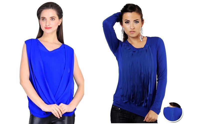 Royal Blue tops for women