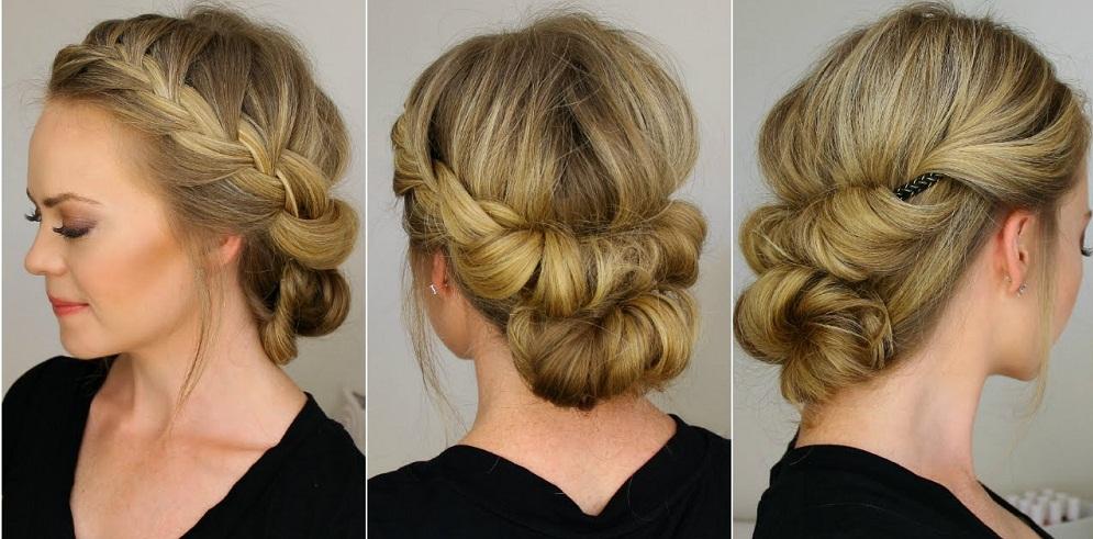The Headband Tuck hairstyle