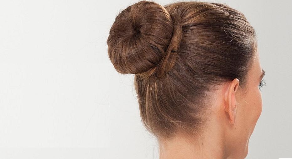 Twist Doughnut Bun Hairstyle