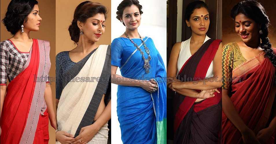 office wear saree