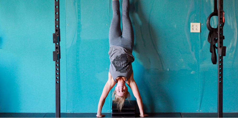 handstand-pushups