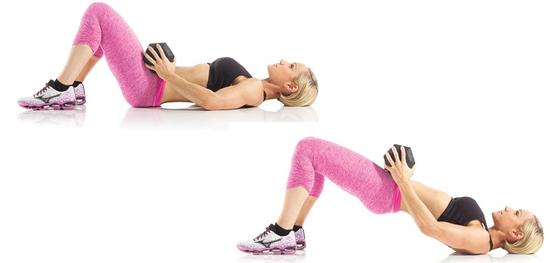 bridge-dumbbells-workout