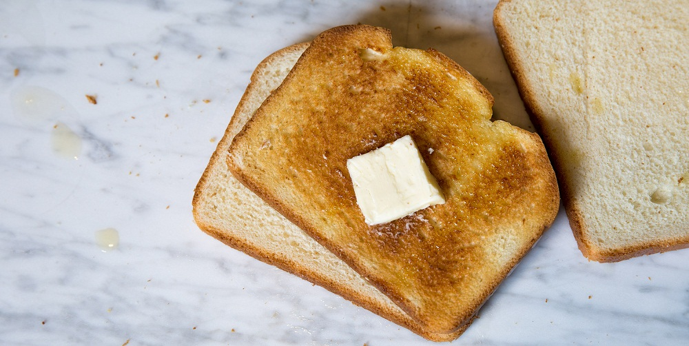 toast - foods not to eat in the morning