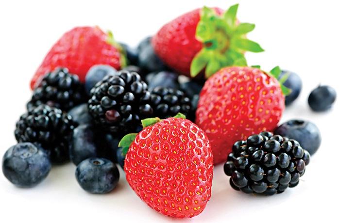 Berries for healthy skin