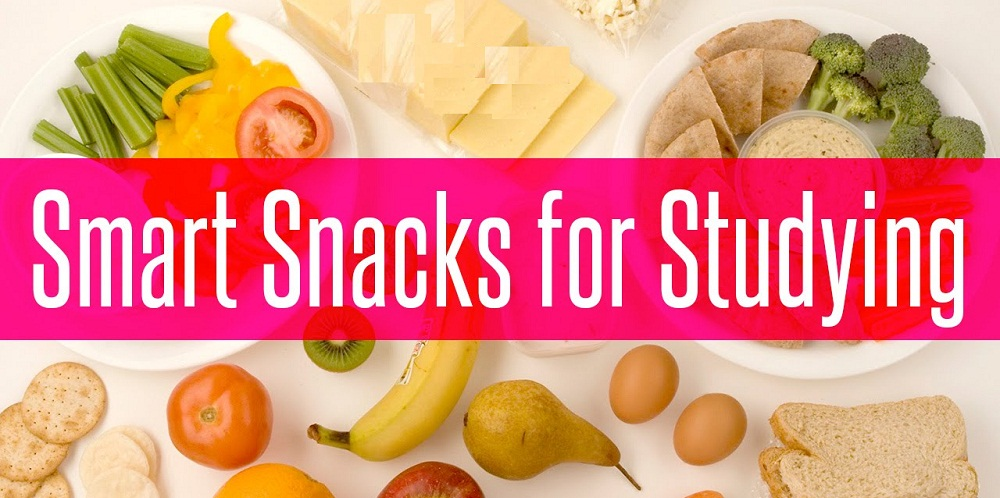 Healthy food for students during exams