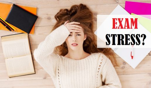 Tips to reduce stress during exams