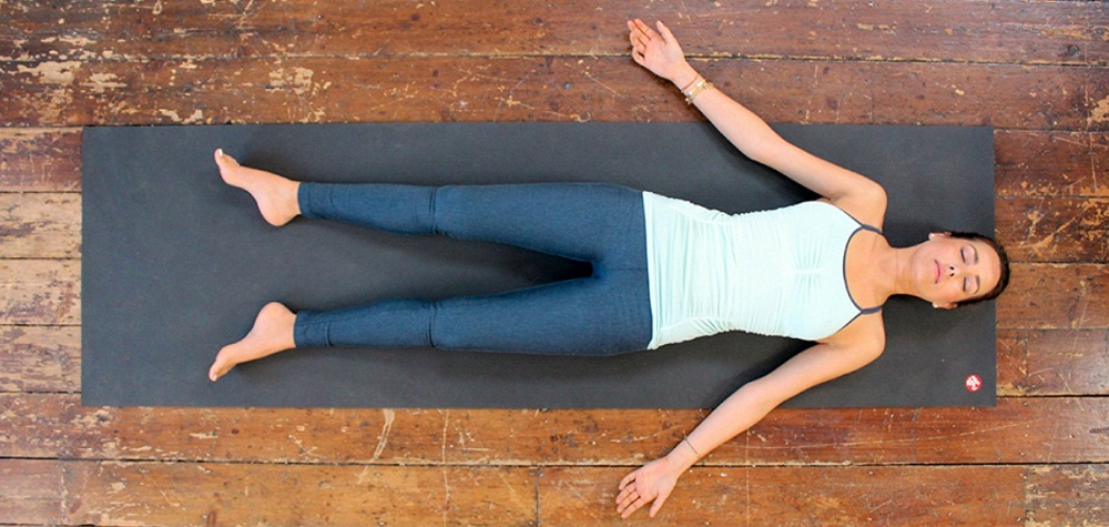 Corpse (Savasana) yoga pose