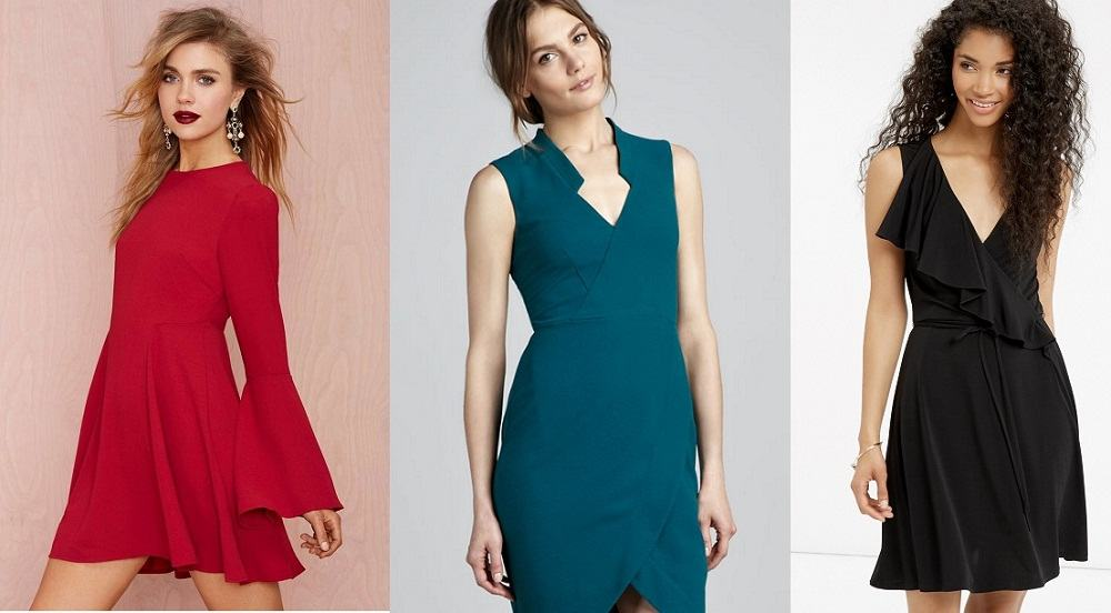 Crepe Dress for Valentines Day