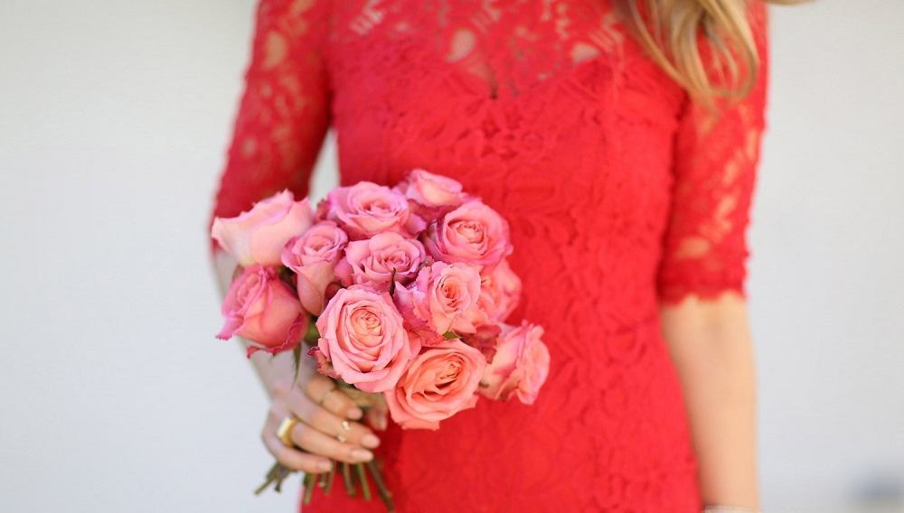 Lace Dress for valentine's day