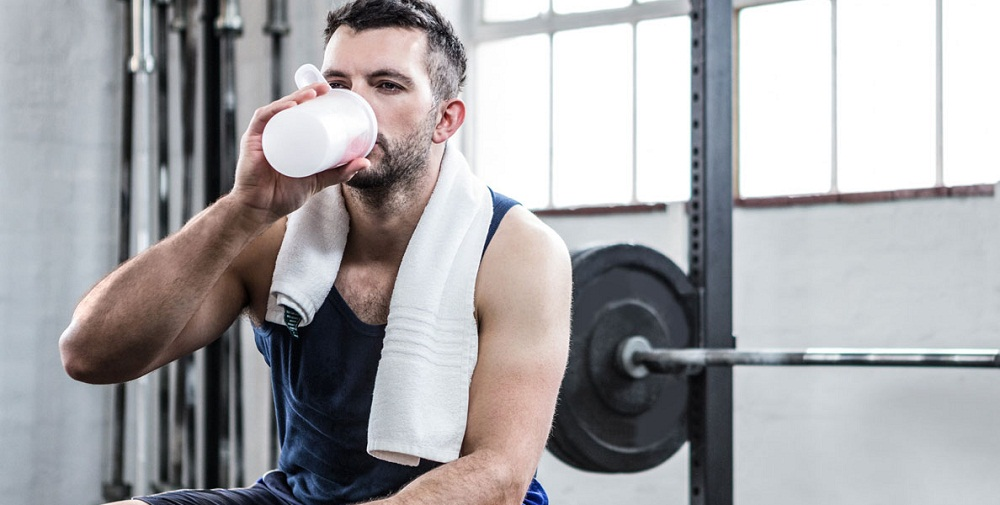 Protein shake for lean muscle