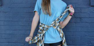 Wrap shirt around waist