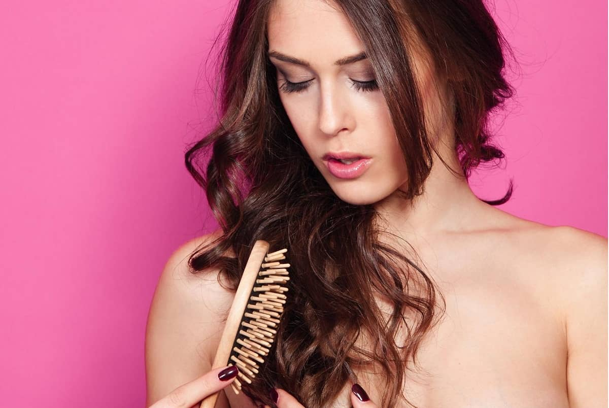 Thinning hair, How to reduce hair loss naturally, Hair fall treatment shampoo