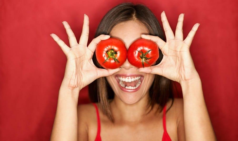 Tomato Eye Mask