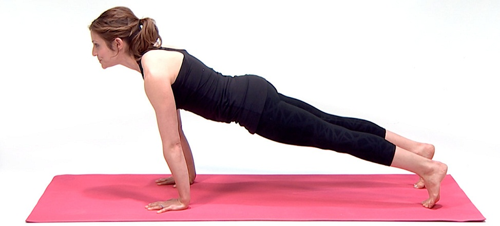plank pose in yoga