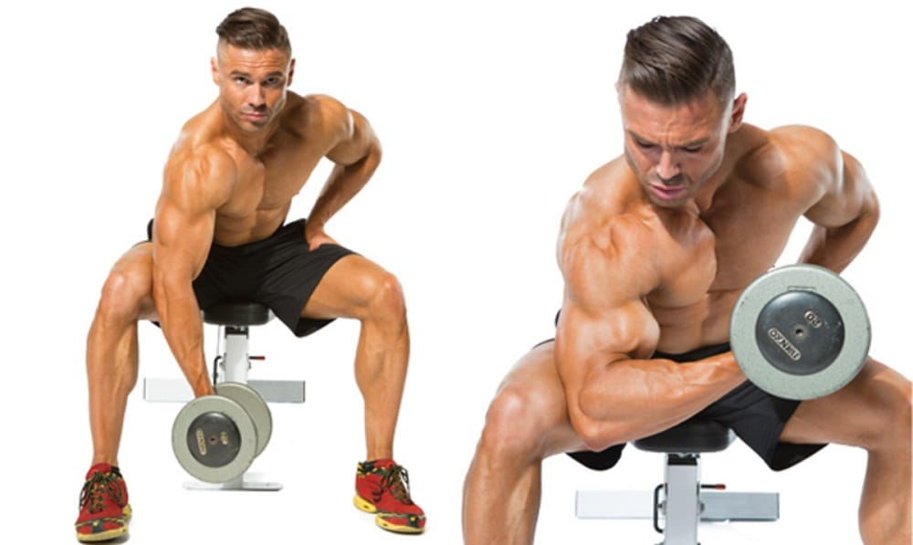 Concentration Curl Dumbbell