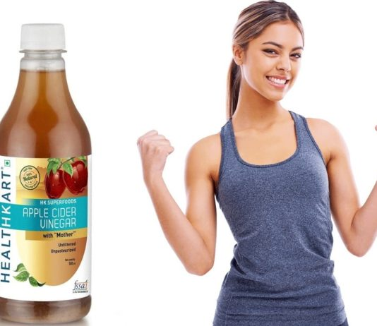 HealthKart apple cider vinegar with mother review