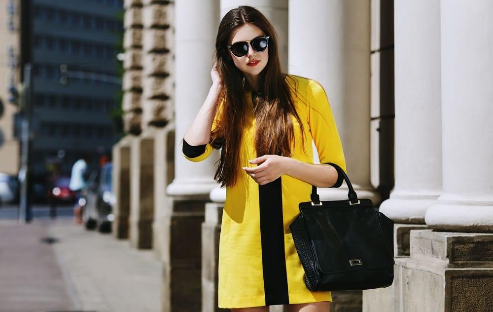 Model dress look