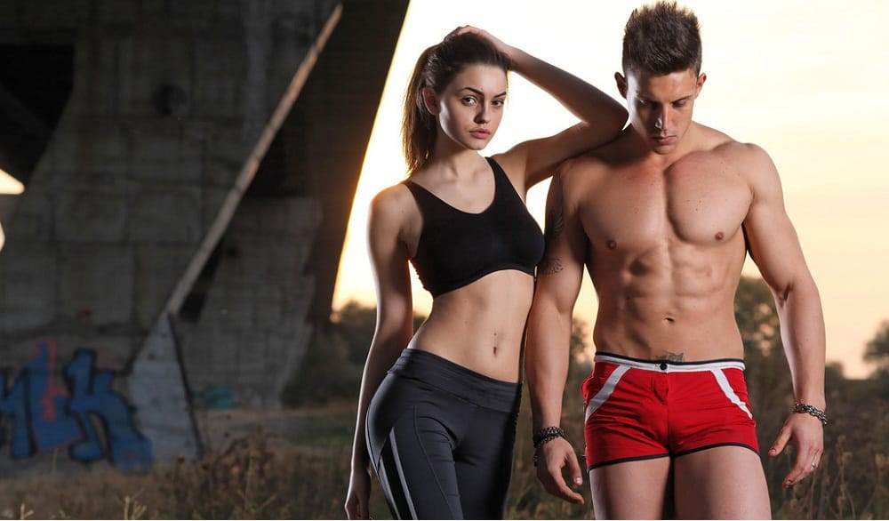 How to get attractive body male