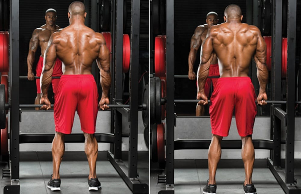 Shrugs workout