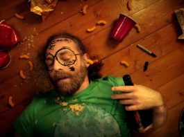 Hangover effects on the body