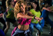 Getting fit with zumba