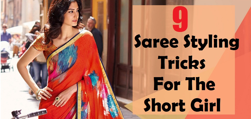 Saree for short height girls